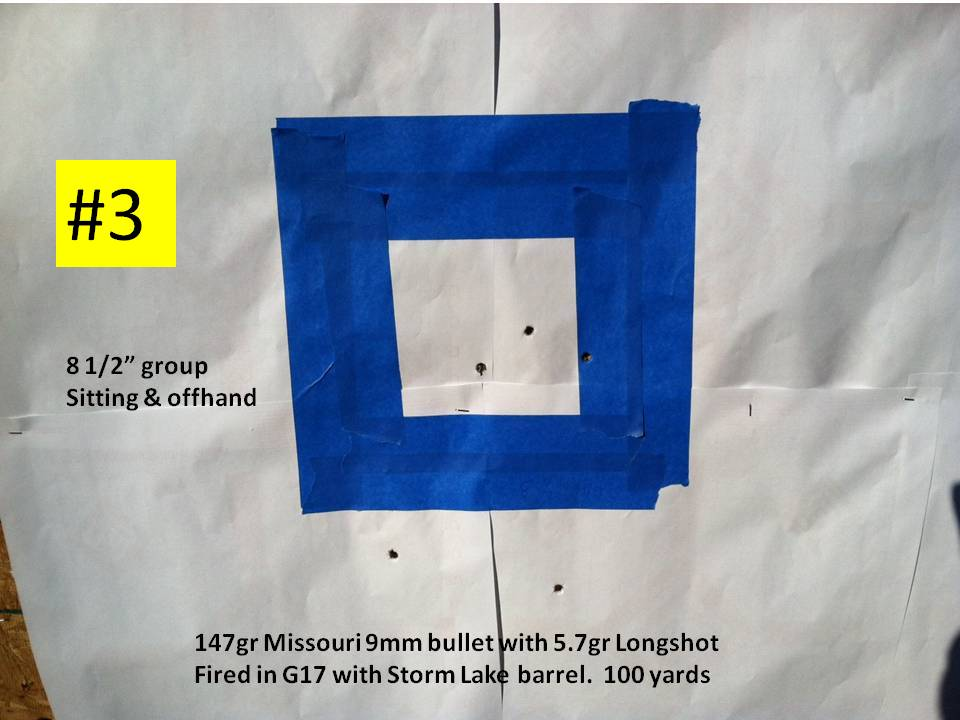 The 9mm (9X19) Loaded with the 120gr Beartooth Bullet-3-147gr-p-100-yards.jpg