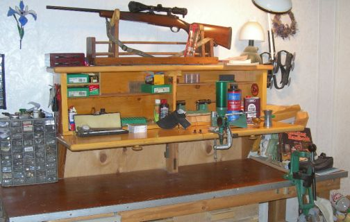 ammo reloading bench plans