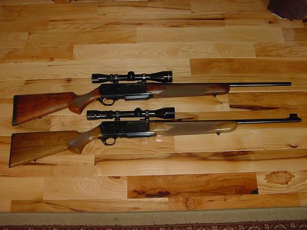 Comparison Of Semi Auto 308 Rifles BAR Rem 750 Vs AR Browning
