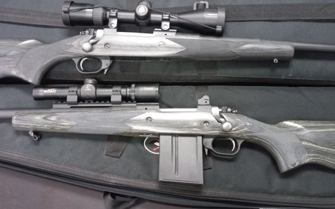 Ruger Gunsite Scout 308 Left hand laminated stock - Shooters