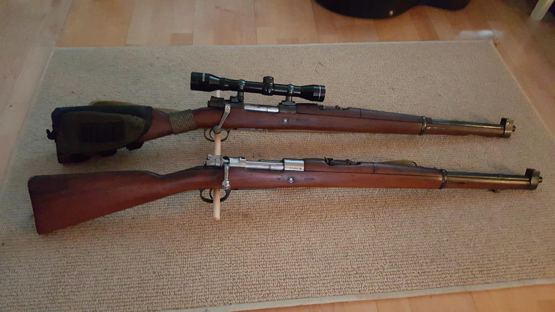 1909 Argentine Cavalry Carbine & Question - Shooters Forum