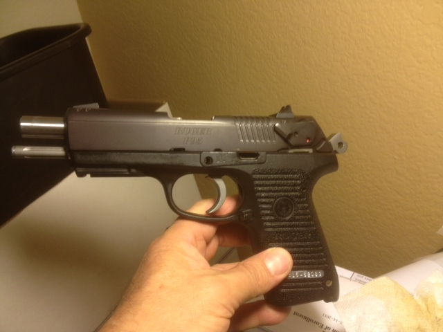 Something is. Field strip a ruger p85 pistol phrase