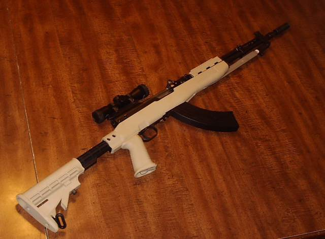 replacement stock for sks rifle