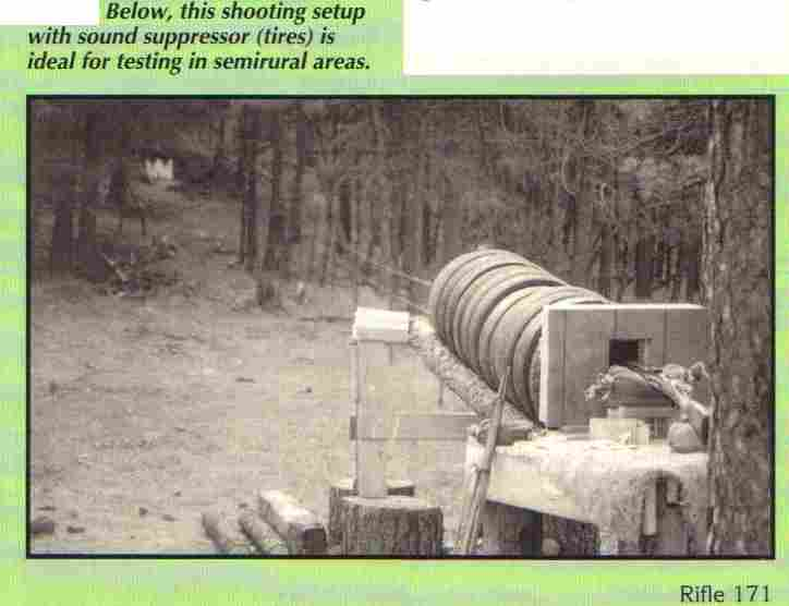 Backyard Shooting Range Noise Range Sound Suppressor