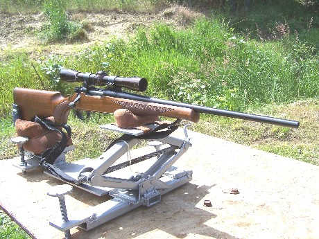 Portable Shooting Table Rifle Rest1 ...
