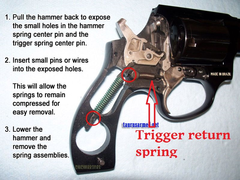 Taurus 605 disassembly - Shooters Forum